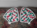 Christmas Bells Potholders