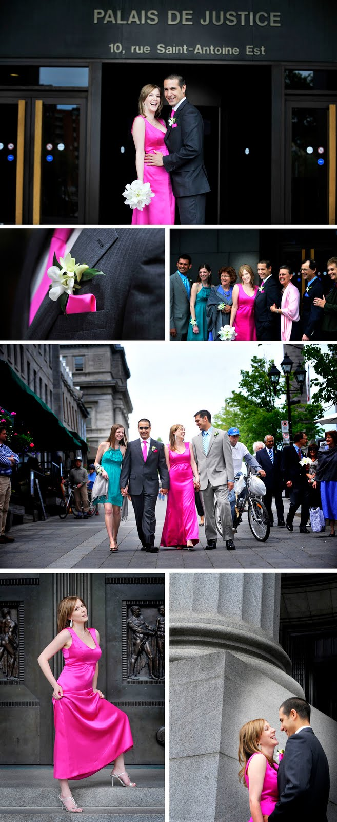 The Nuptial Notebook Civil Wedding Downtown Montreal
