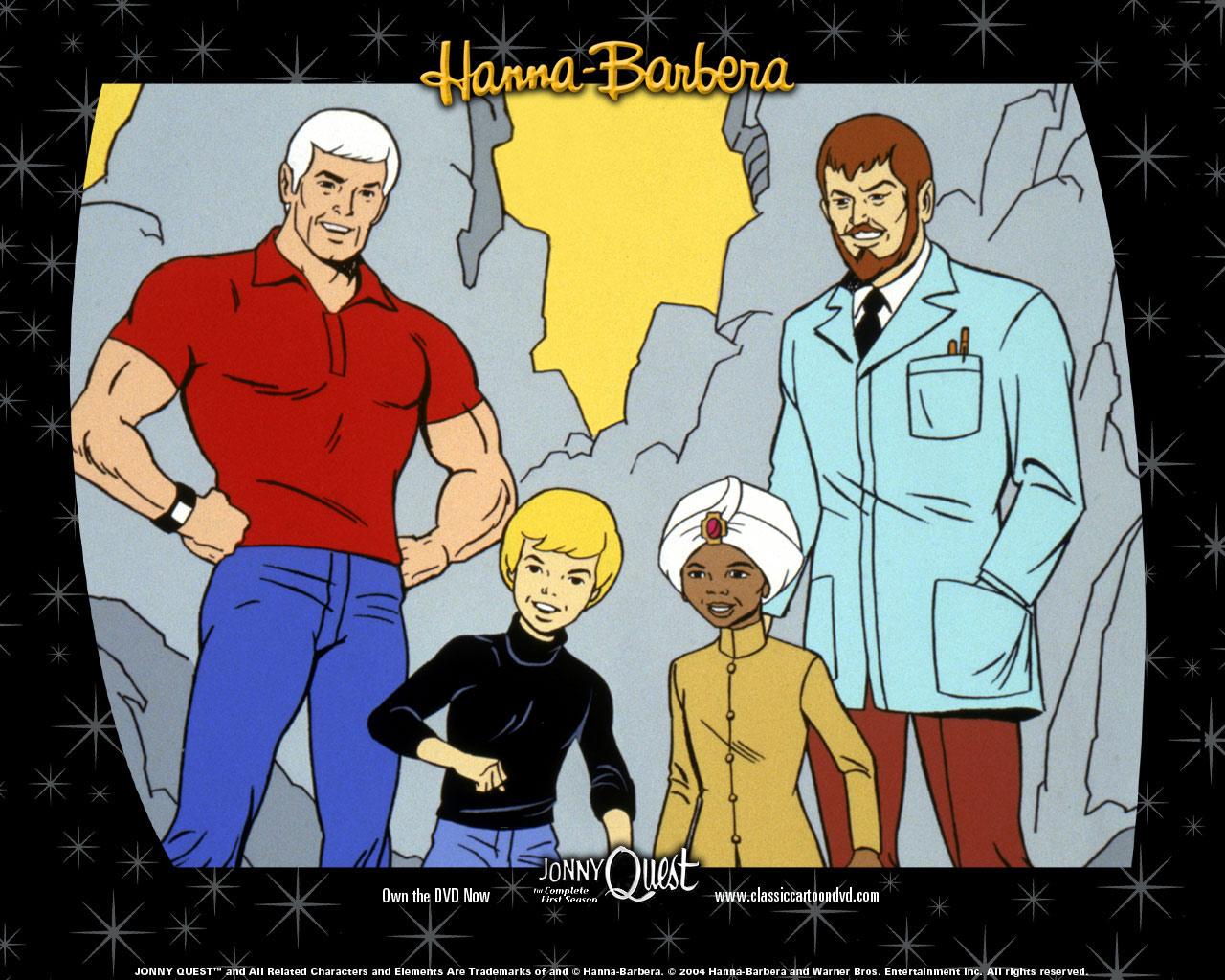 Hanna Barbera World Wallpaper Jonny Quest