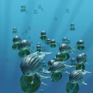 criaturas marinhas animais do futuro evolução