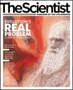 The Scientist Cover revista evolution real problem