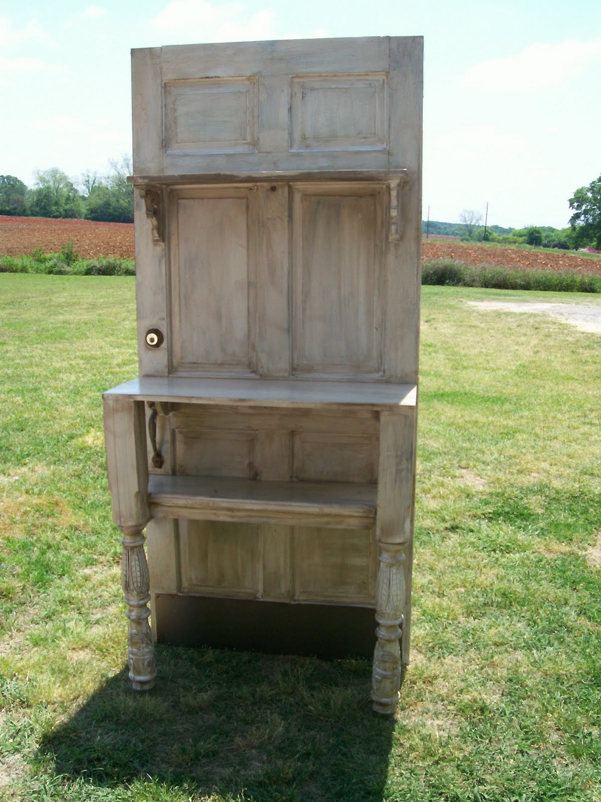 K gilbert designs my new project what do you think - What to do with old doors ...