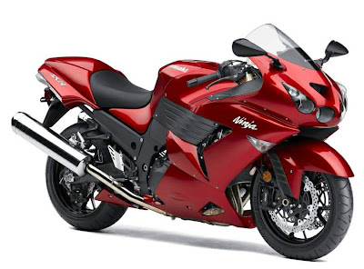 NEW MOTOR SPORT KAWASAKI ZZR 1400 ZX-14 REVIEW