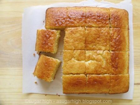 Sugar High: Sweet Honey Cornbread