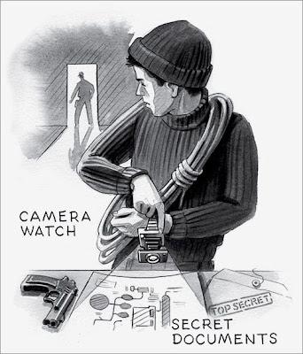 secret agent's stuffs