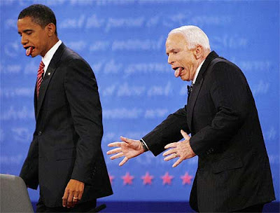 Obama And McCain fun pics
