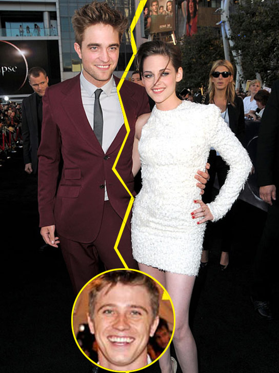 Robert Pattinson Freaks Out At Kristen Stewart For Date With Garrett Hedlund ...