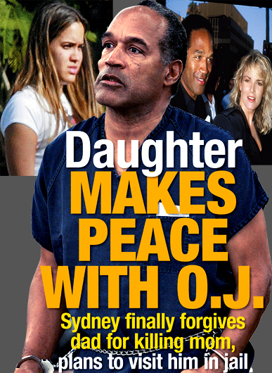 DAUGHTER FORGIVES OJ SIMPSON FOR KILLING HER MOM - CLICK FOR MORE