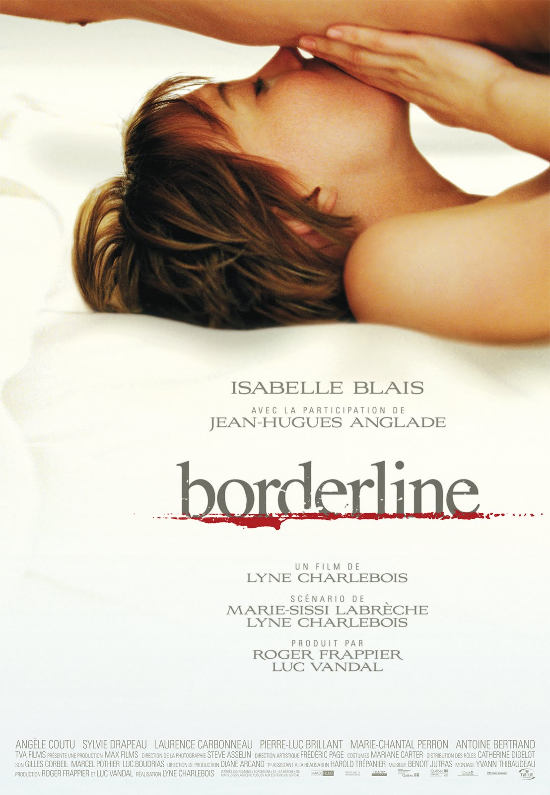 Isabelle Blais total nude in Borderline ...