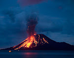 THE LARGEST VOLCANO ERUPTION...