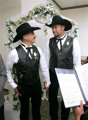 western wedding gay