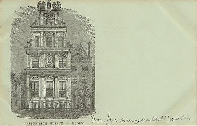 Hoorn Litho Vorläufer Ansichtskarte