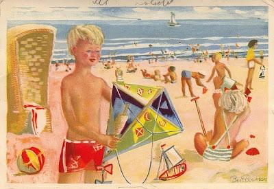 Kinderbriefkaart anno 1951