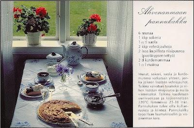 Ahvenanmaa pannukakku - Åland-Pfannkuchen