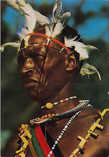 Kenya Kikuyu Warrior