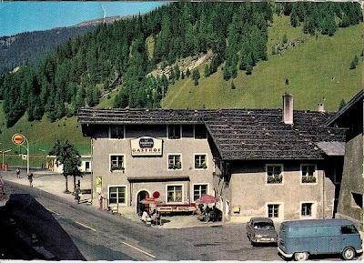 Bulli am Brennerpaß