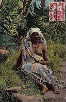 TCV Ansichtskarte Hottentotten