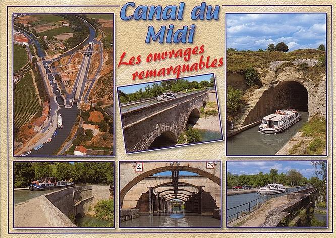 Canal du Midi - Frankreich