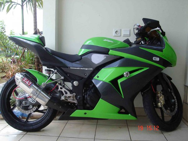 Photo of Ninja 250 Aksesoris