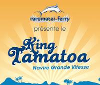 Raromatai Ferry - King Tamatoa logo