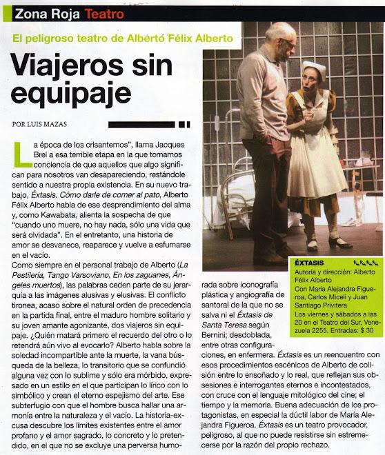 Crítica Revista veintitres
