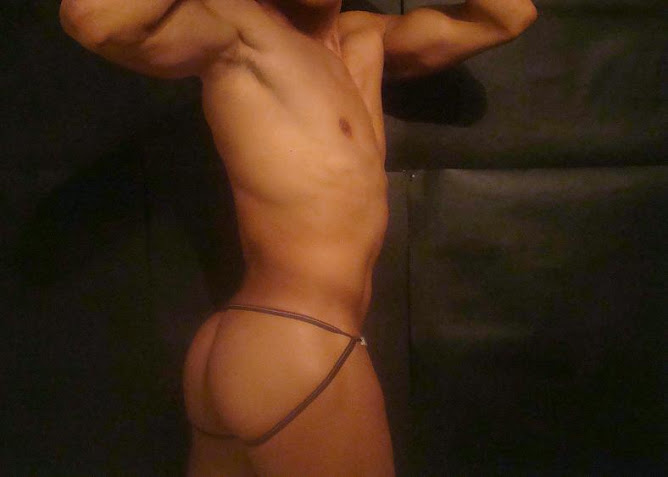 HOT JOCKSTRAP ON A HOT ASS