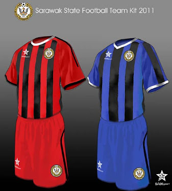 Sarawak State Football Team Kit 2011