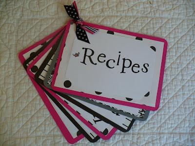Recipes by sheri doyle