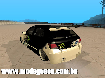 VW Gol G5 Tuning Monster para GTA San Andreas