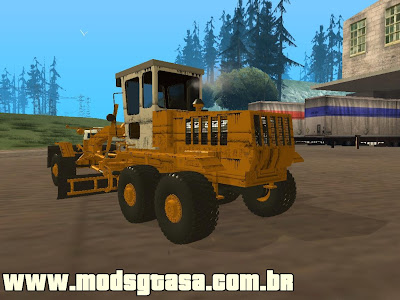 Motoniveladora para GTA San Andreas