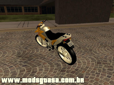 Honda NXR Bros Mix 2010 para GTA San Andreas