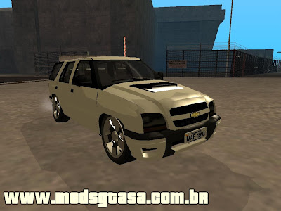 Chevrolet Blazer 2009 BETA para GTA San Andreas