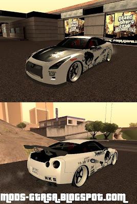 Sons Acura on Mods Gta San Andreas   Nissan Skyline R35