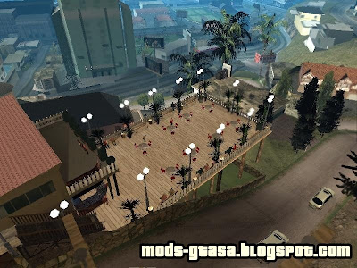 New Caffe Bar para GTA San Andreas