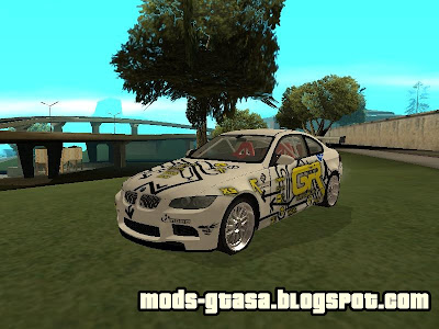 BMW M3 E92 Grip King para GTA San Andreas