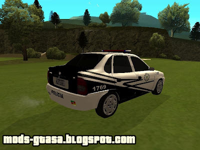 Chevrolet Corsa Sedan Policia Civil do Estado do Rio Grande do Sul para GTA San Andreas
