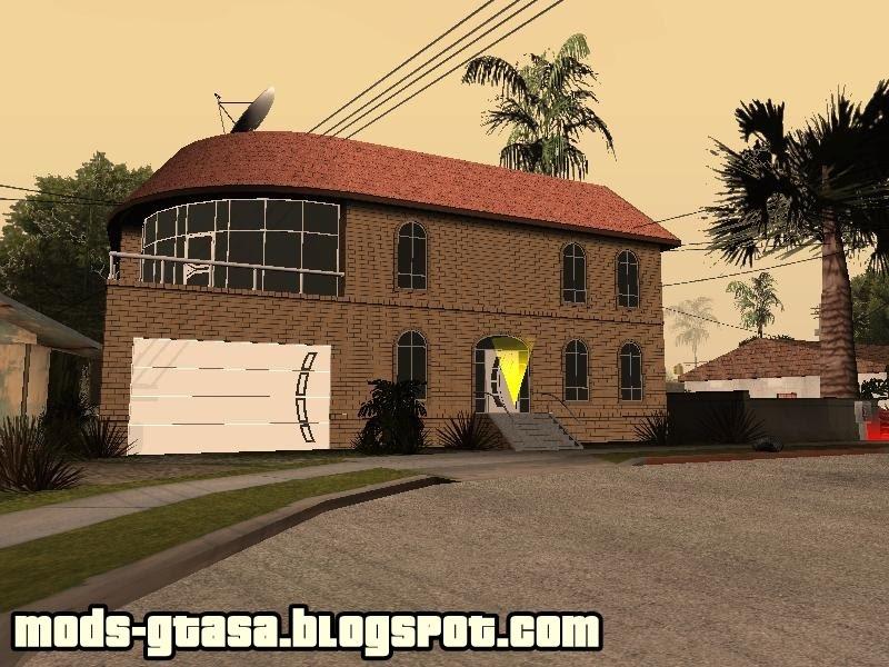 Nova casa do cj mods gta san andreas for Casa moderna gta sa