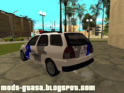 Fiat Palio Weekend PM-ES Skin para GTA San Andreas