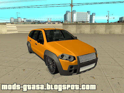 FIAT Palio Weekend Adventura Locker 2010 Edit para GTA San Andreas