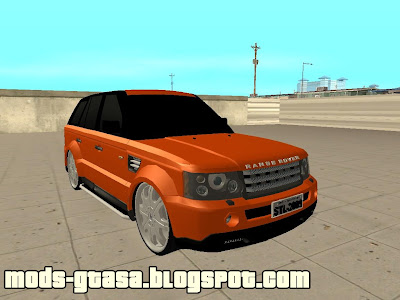 Land Rover Range Rover Edit para GTA San Andreas