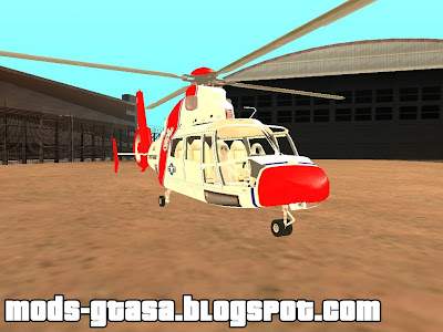 Eurocopter AS-365N Guarda Costeira dos EUA para GTA San Andreas