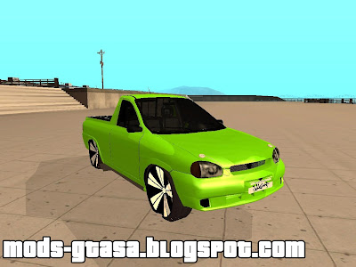 Chevrolet Corsa Pickup PepeuZ Version para GTA San Andreas