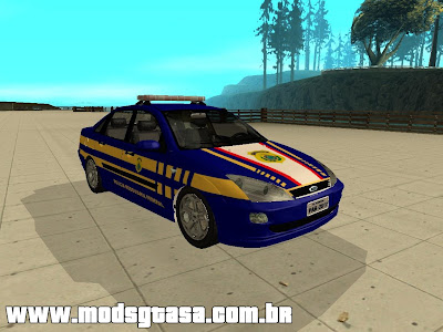 Ford Focus Sedan PRF para GTA San Andreas