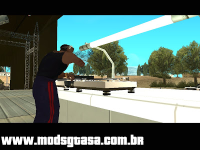 CJ The DJ Mod para GTA San Andreas
