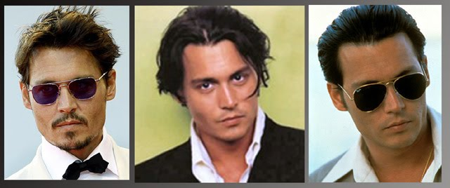 johnny depp haircut. Johnny Depp / Star Hair Style