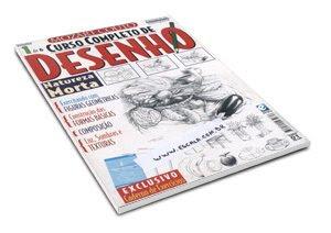 curso desenho Curso Completo de Desenho   Vol. 01 ao 06