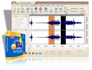 Capa Mp3 Audio Editor Pro 7.9.1 + Serial