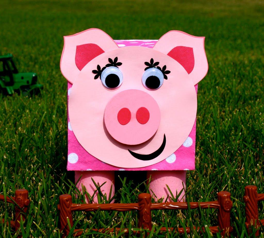 Smart bottom enterprises piggy bank classroom kit for Make a piggy bank craft