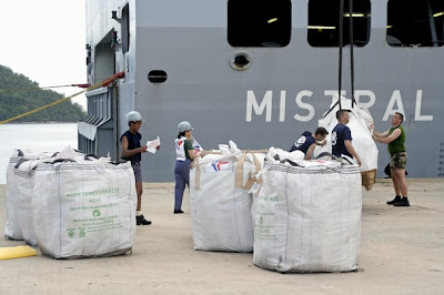 >US aid ships could soon leave Myanmar coast