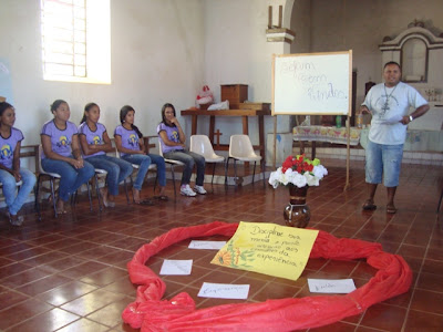 Diocese de Porto Nacional/To realiza intercâmbio de formação e animação missionária para os jovens.